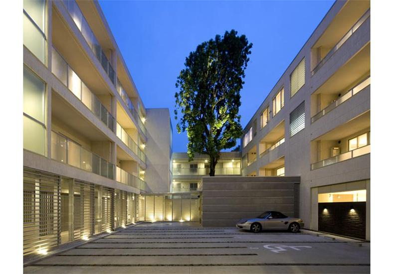 ディアナコート成城翠邸 駐車場 イメージ