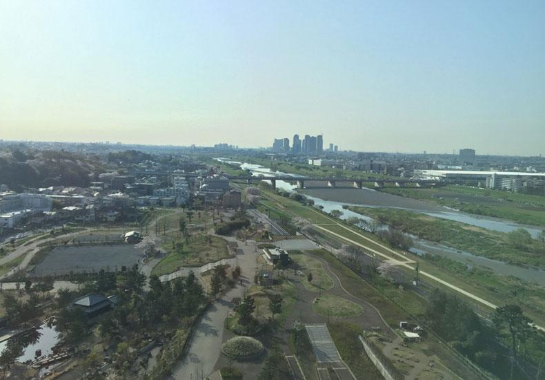 二子玉川ライズタワー&レジデンス タワーイースト 眺望 イメージ