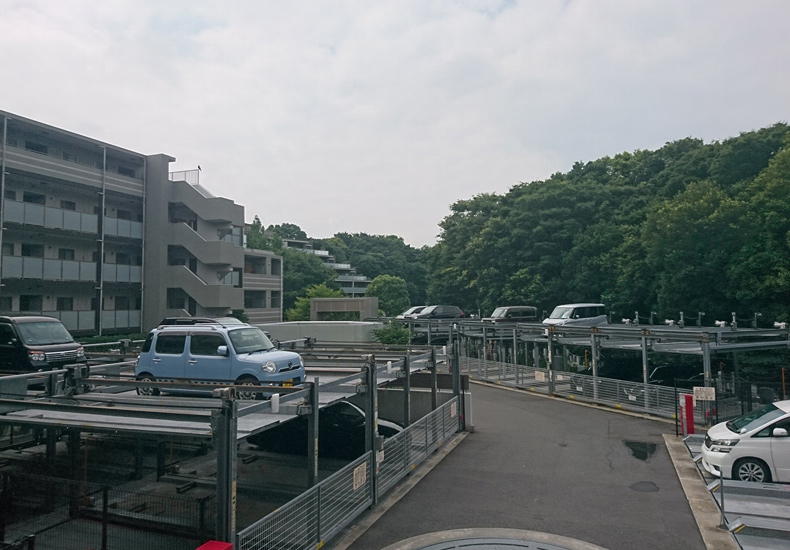クオス溝の口レジデンシャルヒルズ 駐車場 イメージ
