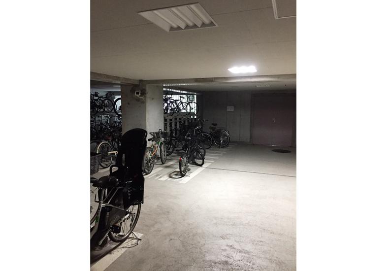 クレッセント目黒青葉台 駐輪場 イメージ