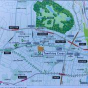 富久クロスコンフォートタワー周辺地図サムネイル