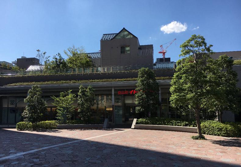 富久クロスコンフォートタワー 広場 イメージ