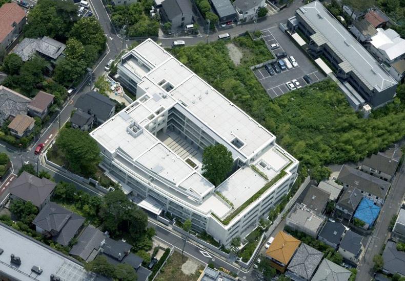 ディアナコート成城翠邸 外観空撮 イメージ