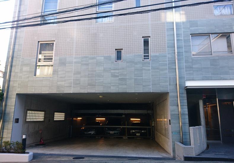 サンクタスガーデン目黒 駐車場外観 イメージ