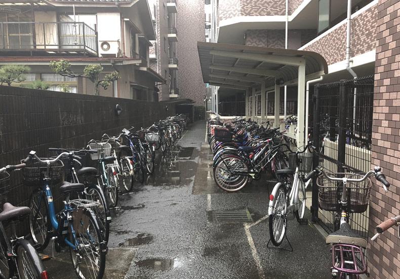 クレッセント矢向 駐輪場 イメージ