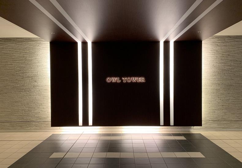 アウルタワー 地下エントランス イメージ