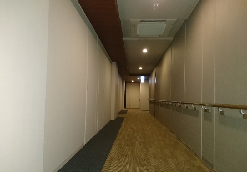 パークシティ武蔵小杉ザグランドウイングタワー 内廊下 イメージ