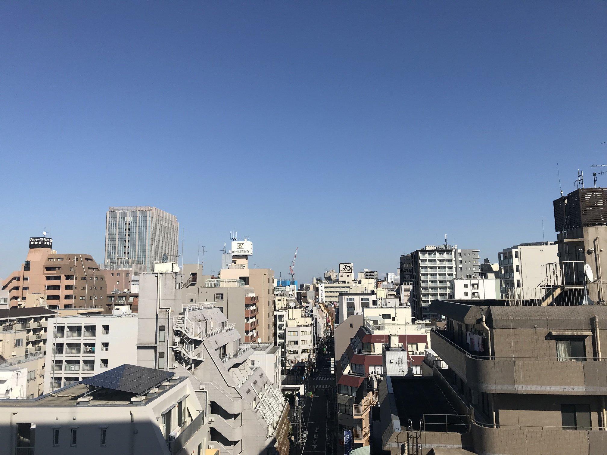 アールブラン西蒲田 バルコニー眺望 イメージ