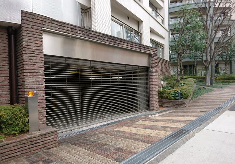 パークコート恵比寿ヒルトップレジデンス 駐車場入口 イメージ