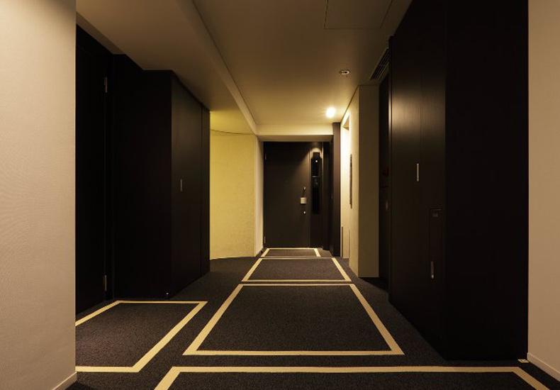 アールブラン西蒲田 内廊下 イメージ