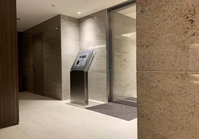 ザ・ヒルトップタワー高輪台 ロビーエントランス イメージ