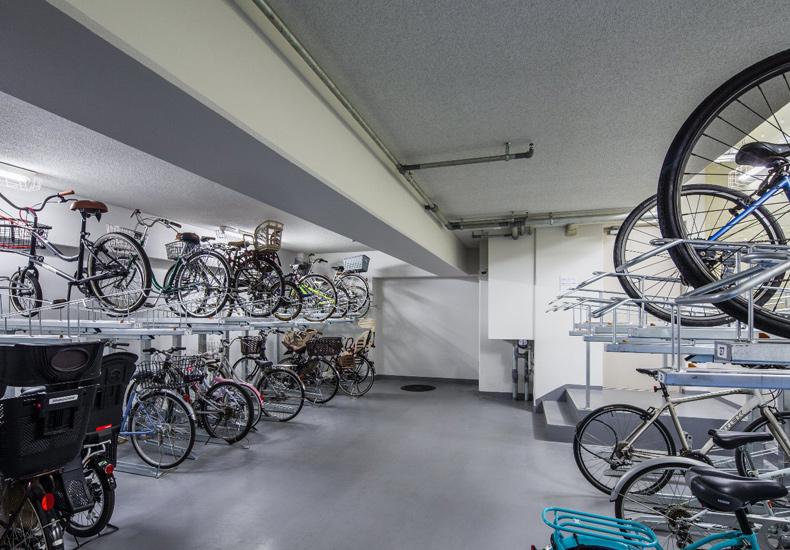 アールブラン大森山王 駐輪場 イメージ