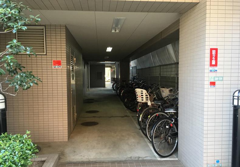 東急ドエル・アルス下北沢 駐輪場 イメージ