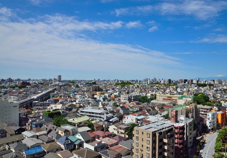 ル・サンク大崎ウィズタワー 眺望 イメージ