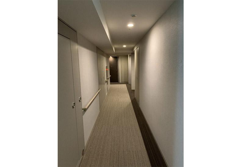 ル・サンク大崎ウィズタワー 内廊下 イメージ