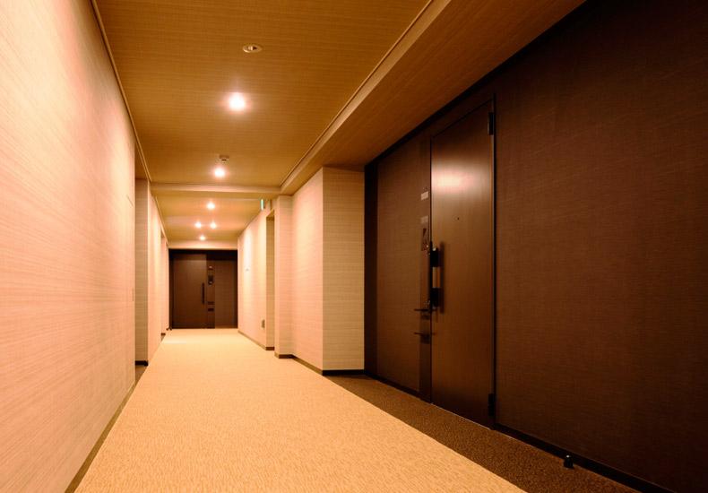 アールブラン久が原レジデンス 内廊下 イメージ