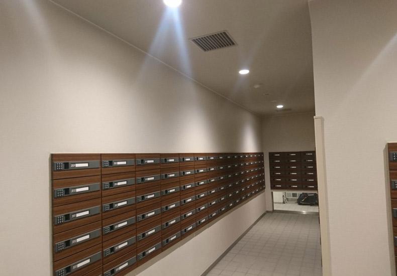 パークシティ武蔵小杉ザグランドウイングタワー 集合郵便受け イメージ