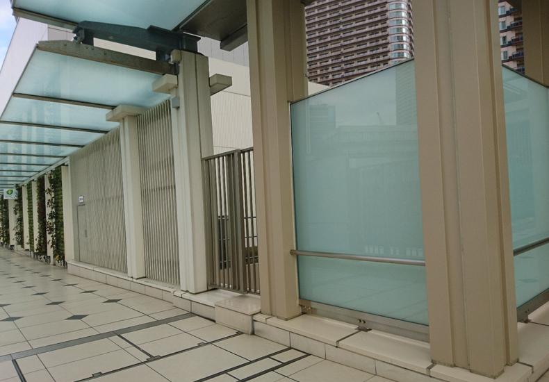パークシティ武蔵小杉ザグランドウイングタワー アプローチデッキ イメージ