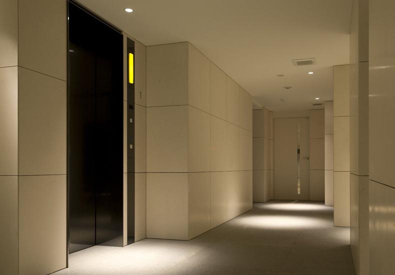 ピアース桜新町 エレベーターホール イメージ