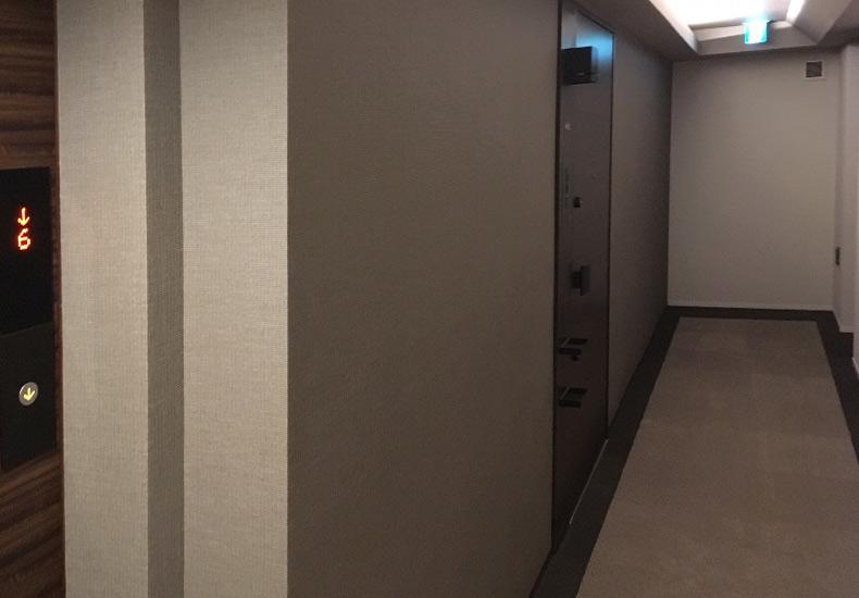オープンレジデンシア表参道神宮前ザ・ハウス 内廊下 イメージ