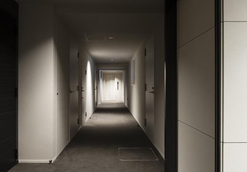 ピアース学芸大学 内廊下 イメージ