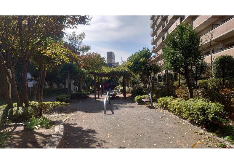 ルネ調布国領モア・クレスト 提供公園 イメージ