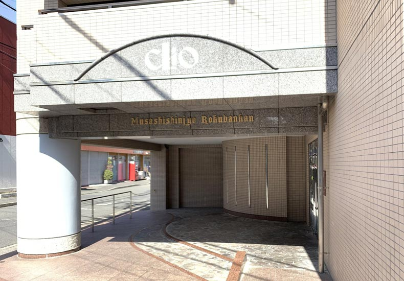 クリオ武蔵新城六番館 エントランス イメージ