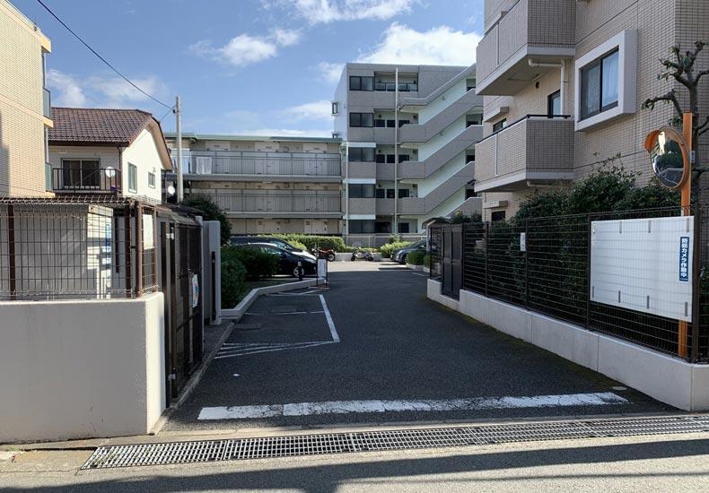 クリオ武蔵新城六番館 駐車場 イメージ