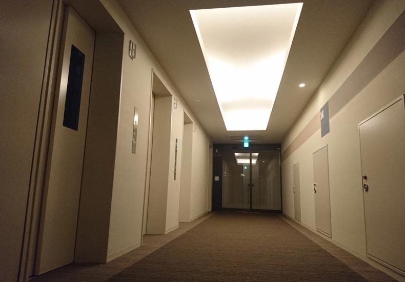 パークシティ武蔵小杉ステーションフォレストタワー エレベーターホール イメージ