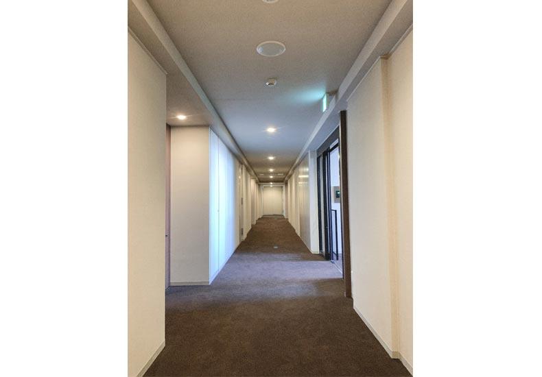 パークコート南麻布 内廊下 イメージ