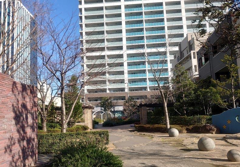 パークシティ武蔵小杉ステーションフォレストタワー 交流の庭 イメージ