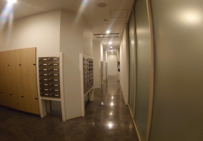 パークシティ武蔵小杉ステーションフォレストタワー メールコーナー イメージ