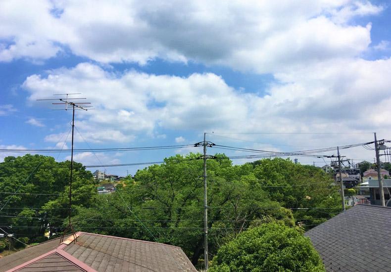 アールブラン新百合ヶ丘 寝室バルコニーからの眺望 イメージ