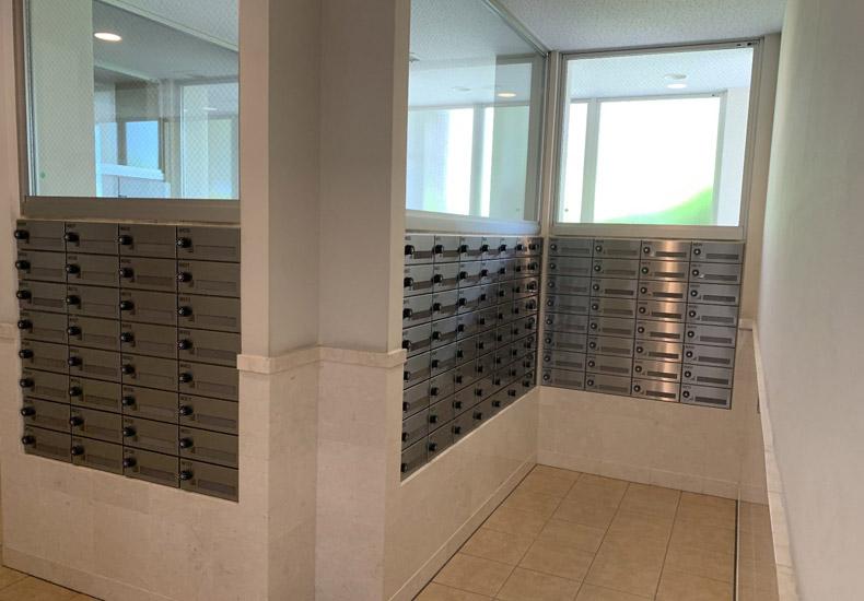 ドレッセ美しの森シルフィーノ ウエストウィング メールボックス イメージ