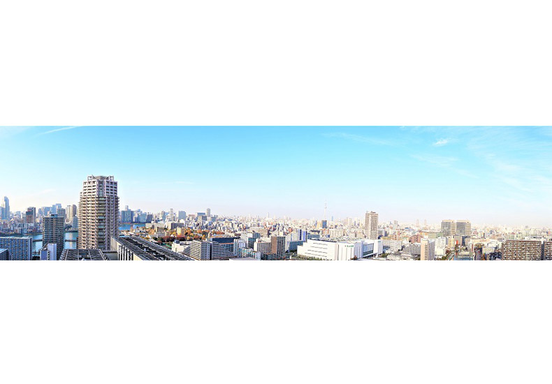 シティタワーズ豊洲・ザ・シンボル パノラマ眺望 イメージ