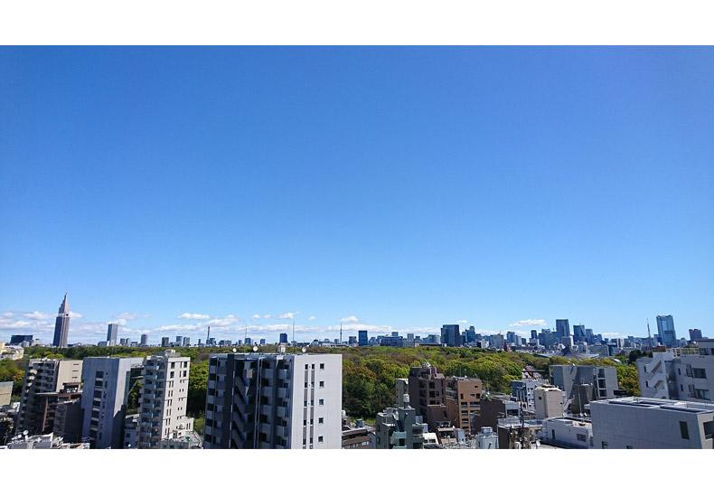 ブリリアタワー代々木公園クラッシィ 眺望 イメージ