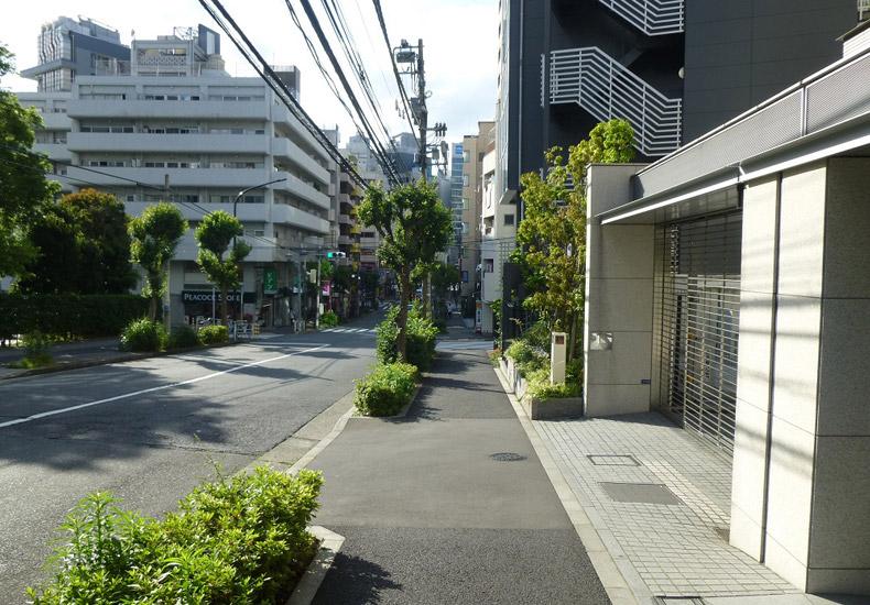 プラウド恵比寿南 前面道路 イメージ