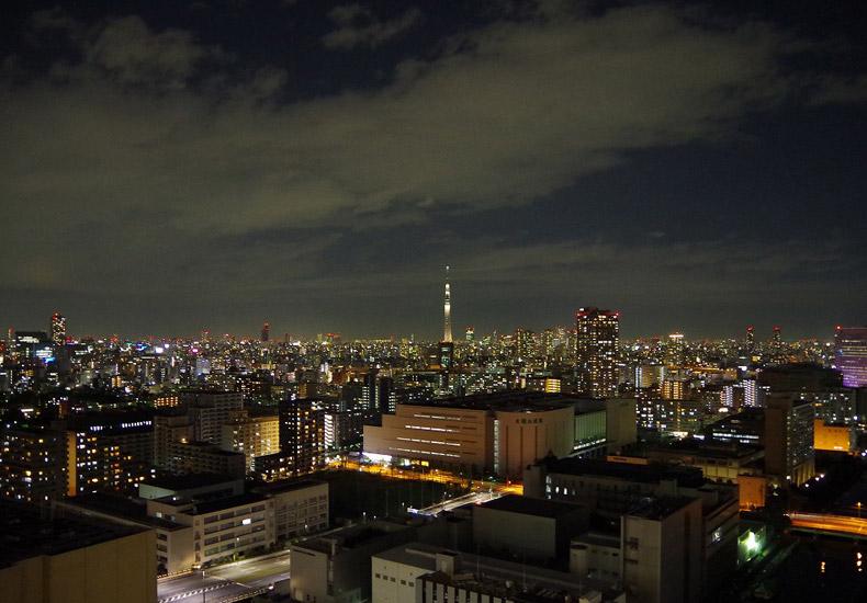 シティタワーズ豊洲・ザ・シンボル スカイツリー夜景 イメージ