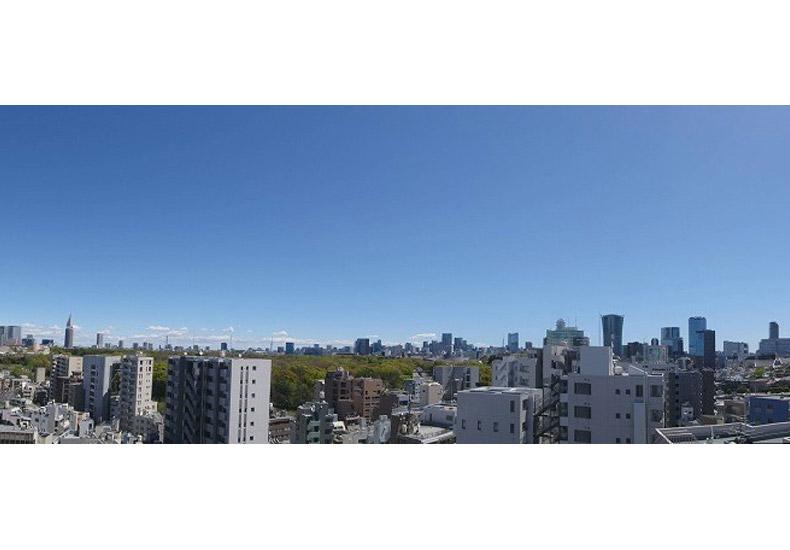 ブリリアタワー代々木公園クラッシィ パノラマ イメージ