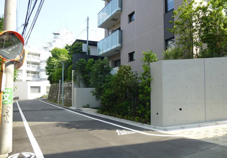 ピアース恵比寿ウエストヒルズ 前面道路 イメージ