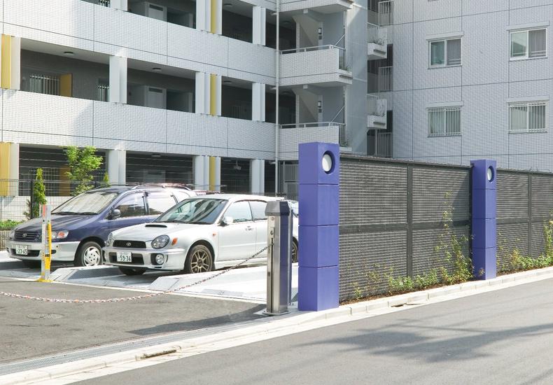 アールブラン西馬込 駐車場 イメージ