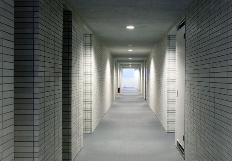 クレッセント武蔵中原IV 内廊下 イメージ