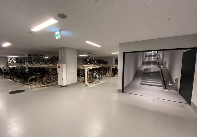 パークシティ武蔵小山 ザ タワー 自転車置き場 イメージ