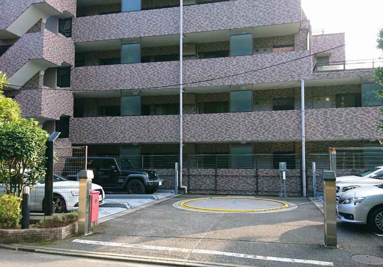 クレッセント上野毛III 駐車場 イメージ