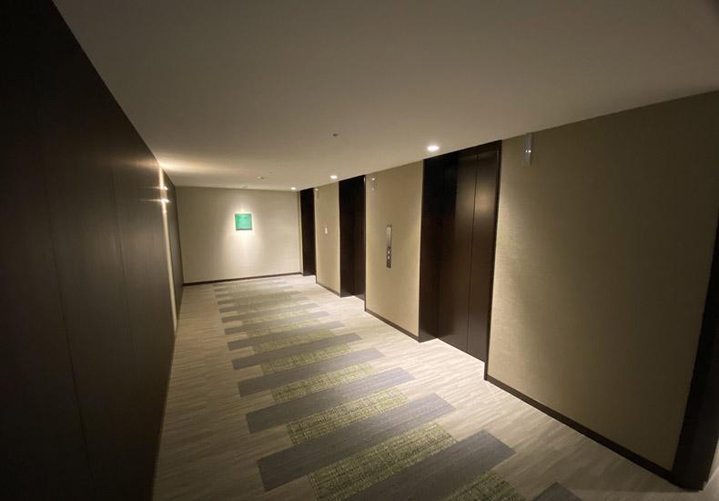 パークシティ武蔵小山 ザ タワー 内廊下 イメージ