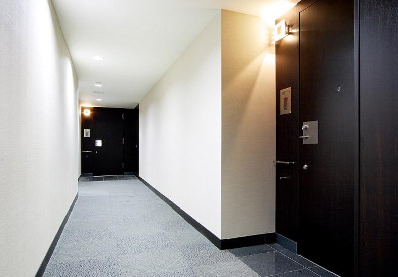 クレッセント三鷹ザ・タワー 内廊下 イメージ